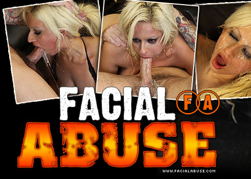Facial Abuse Starring Holly Brooks